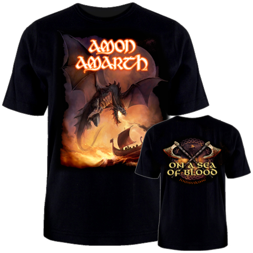 T-Shirt - On A Sea Of Blood