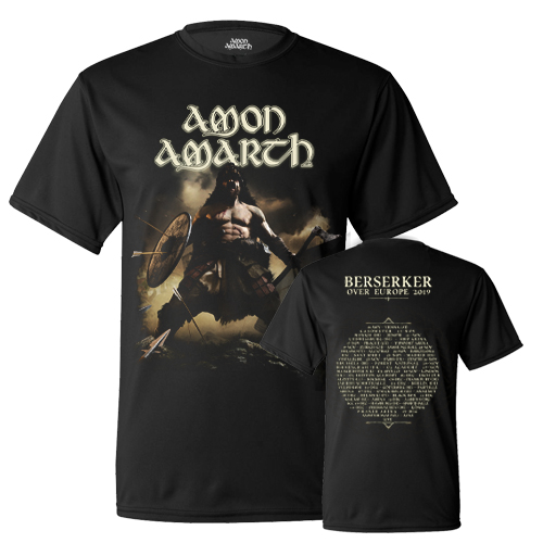 T-Shirt - Berserker European Tour 2019