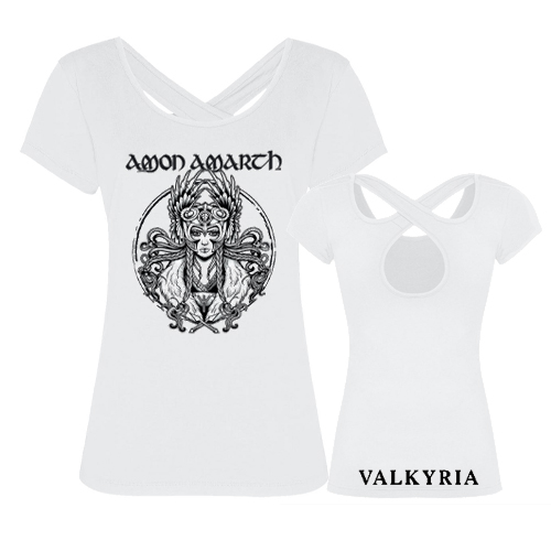 Girlie Shirt - Valkyria (white)