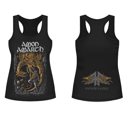 Girlie Tank Top - Fafner`s Gold