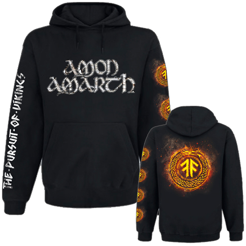 Hooded Sweater - The Pursuit Of Vikings